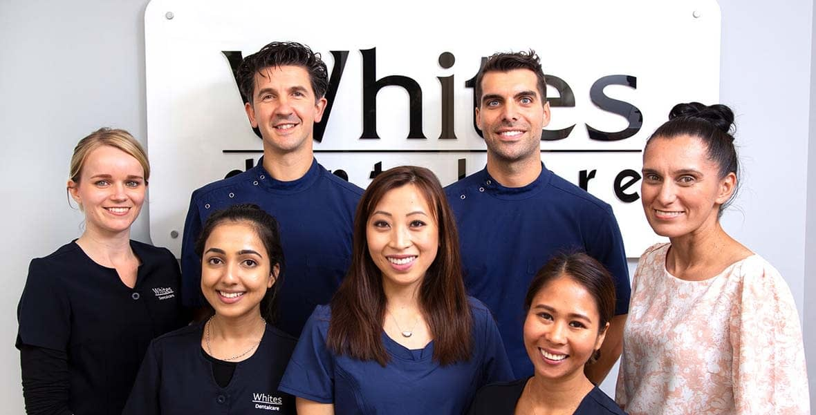 Dentists and team at Whites Dental Care dentist Neutral Bay image