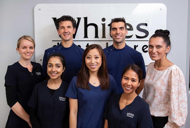whites dental care team image