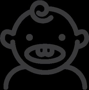 pediatric dentist logo image