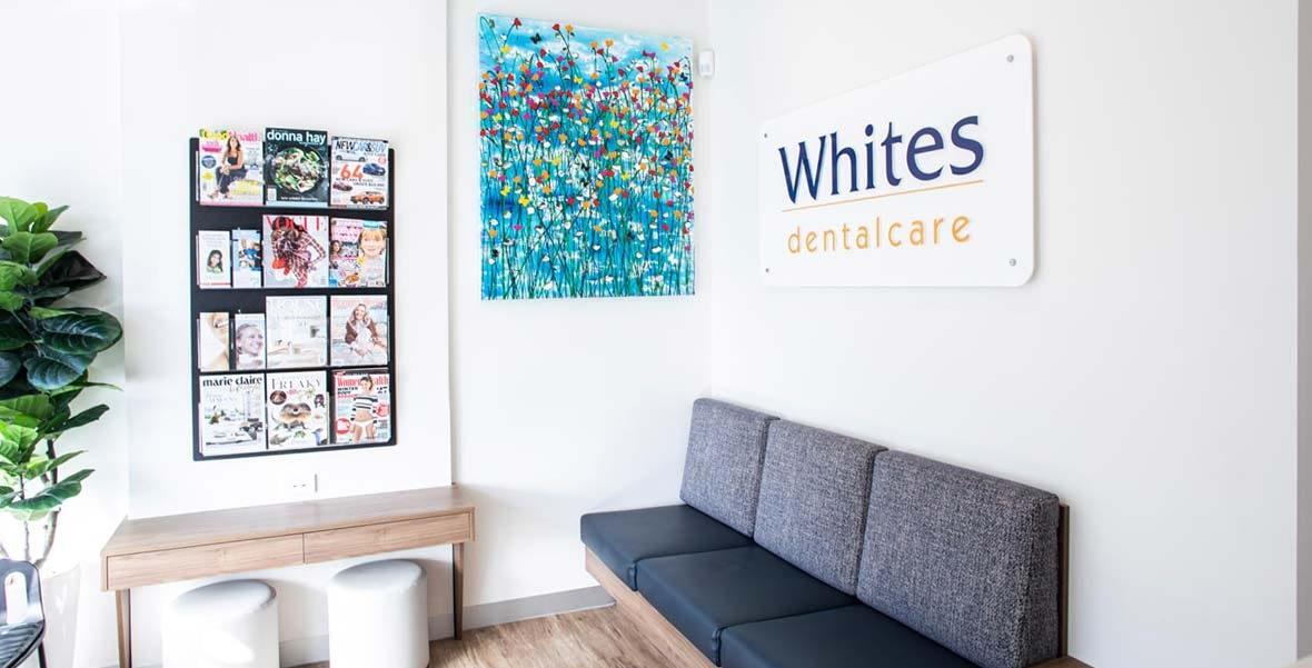 Whites Dental Care Neutral Bay dental clinic reception image