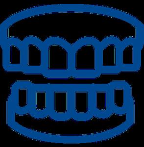 teeth grinding logo image